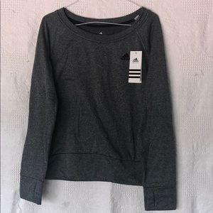 NEW Adidas Grey Climawarm Sweater Size Small